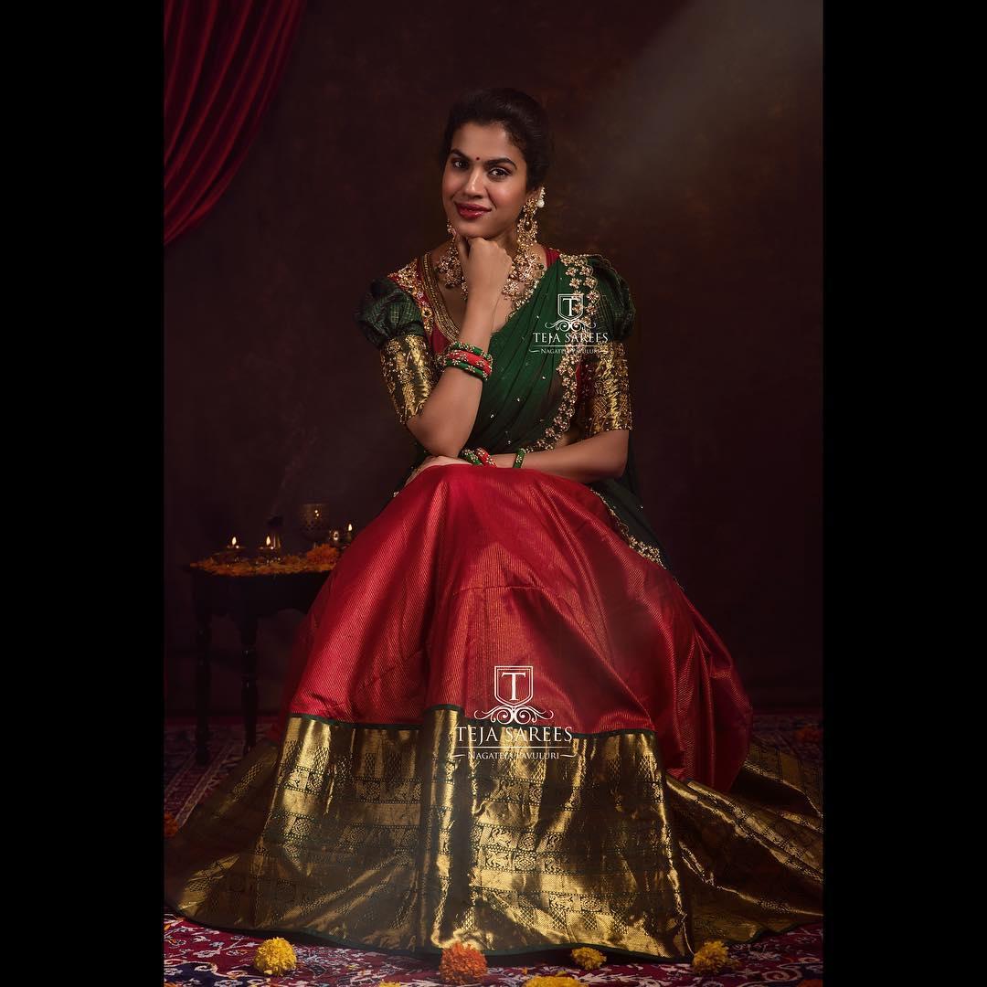 half-saree-designs-2019 (3)