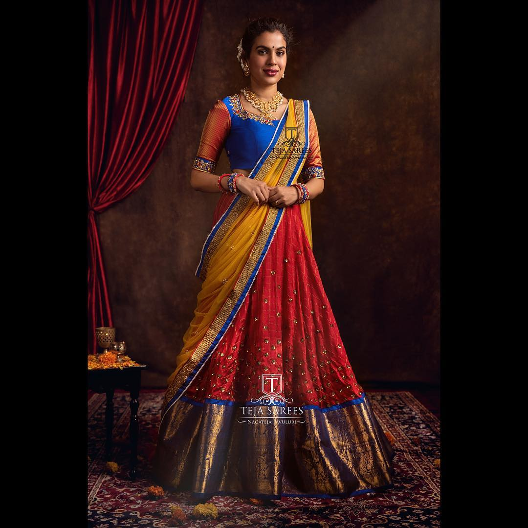 half-saree-designs-2019 (6)