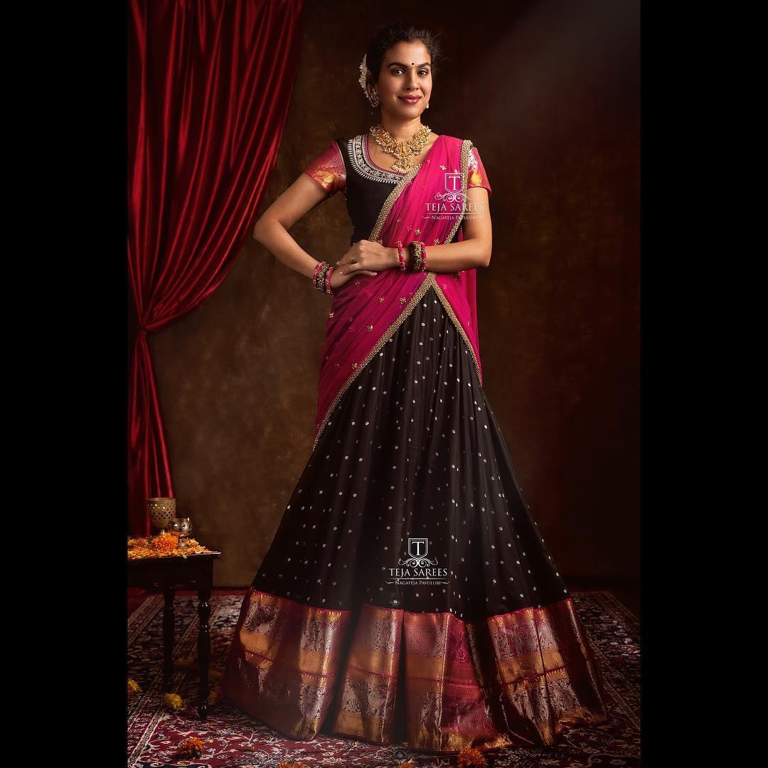 half-saree-designs-2019 (7)