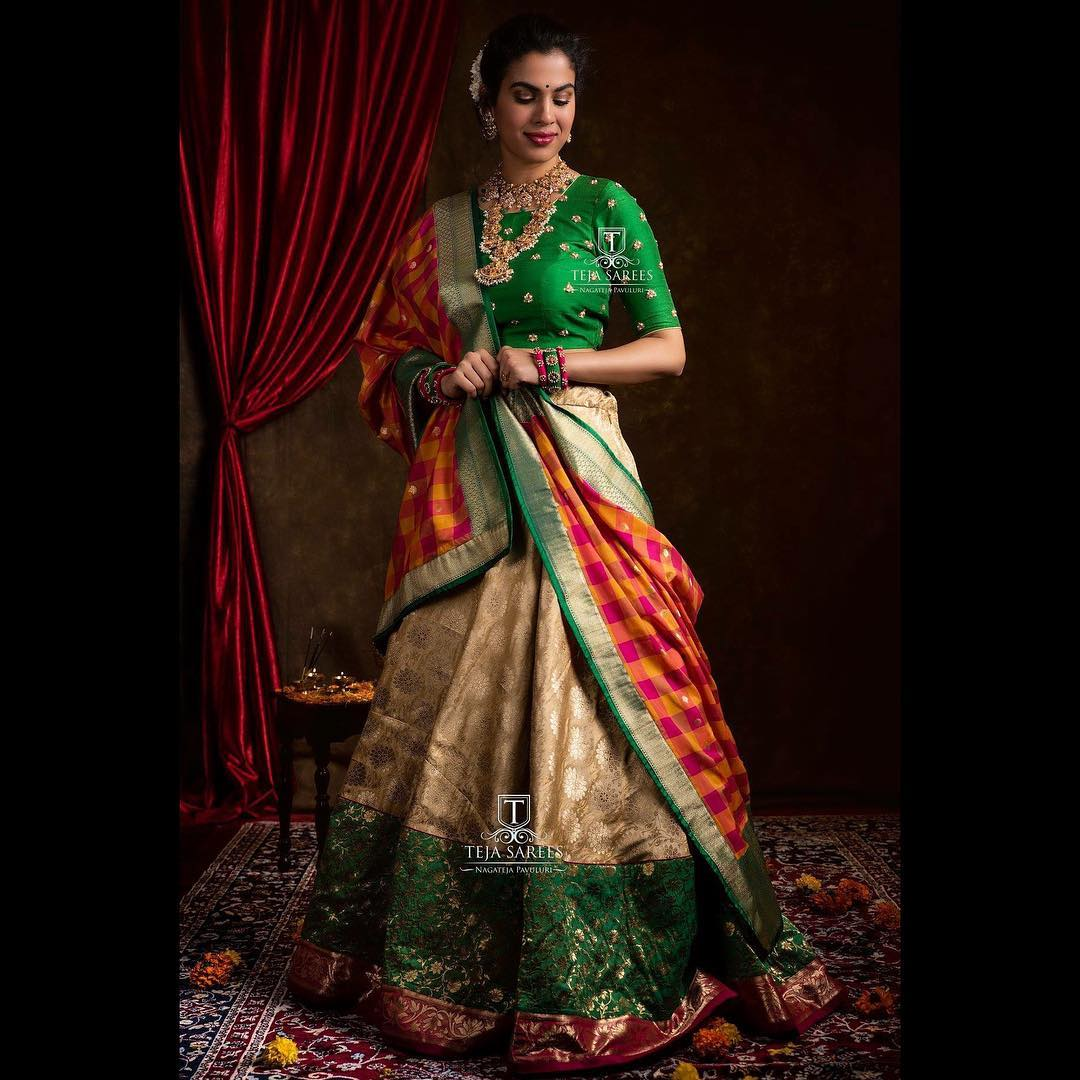 half-saree-designs-2019 (9)