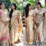 How To Look Stellar in Neutral Shade Sarees