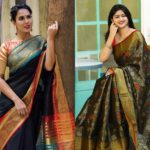 How To Look Awesome in Traditional Black Sarees