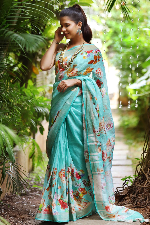 summer-floral-sarees (11)