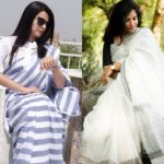 How to Look Spectacular In Simple Sarees!