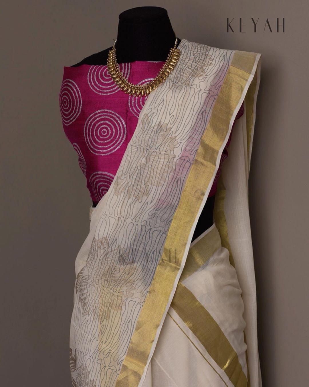 Kerala Silk Saree(2)