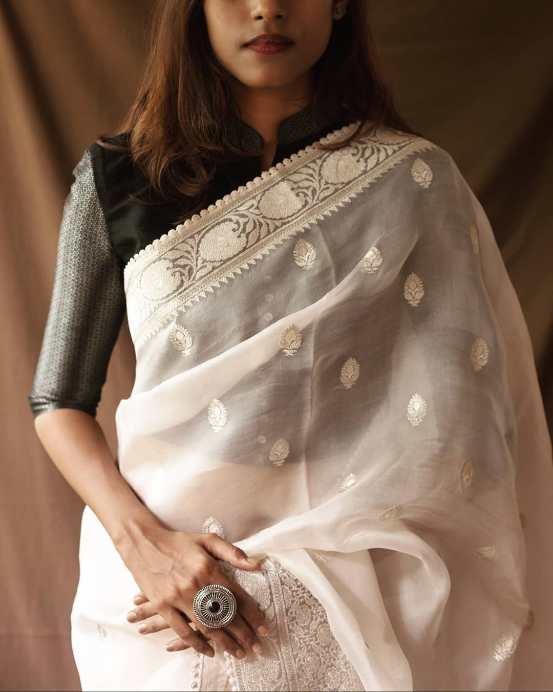 Simple-Party-Wear-Sarees(13)