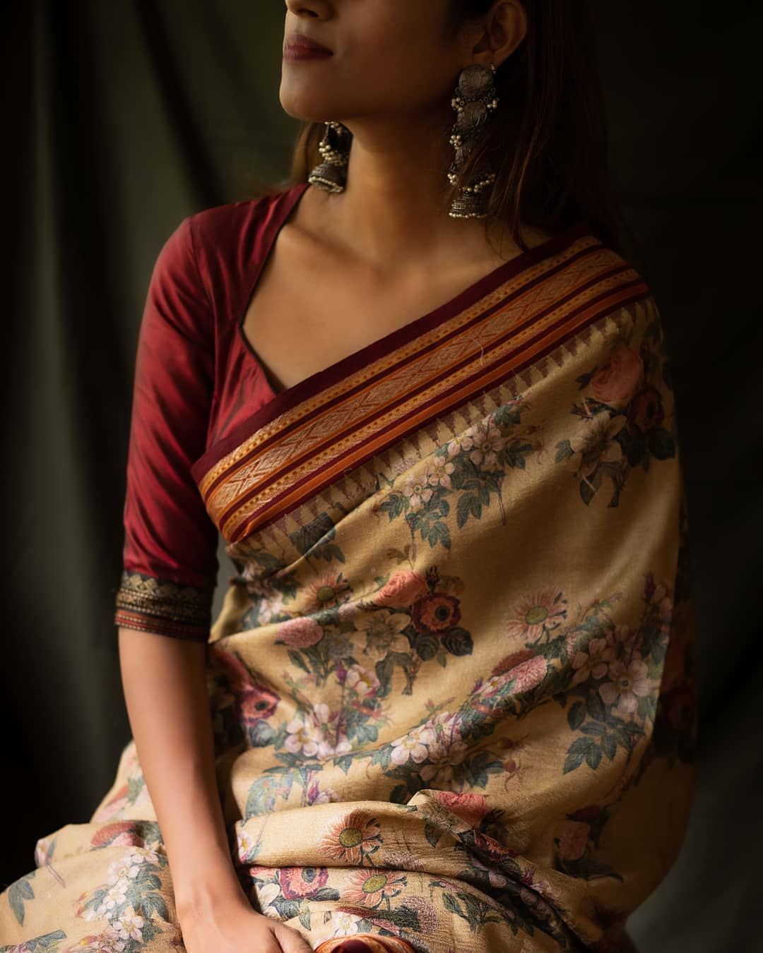 Simple-Party-Wear-Sarees(2)