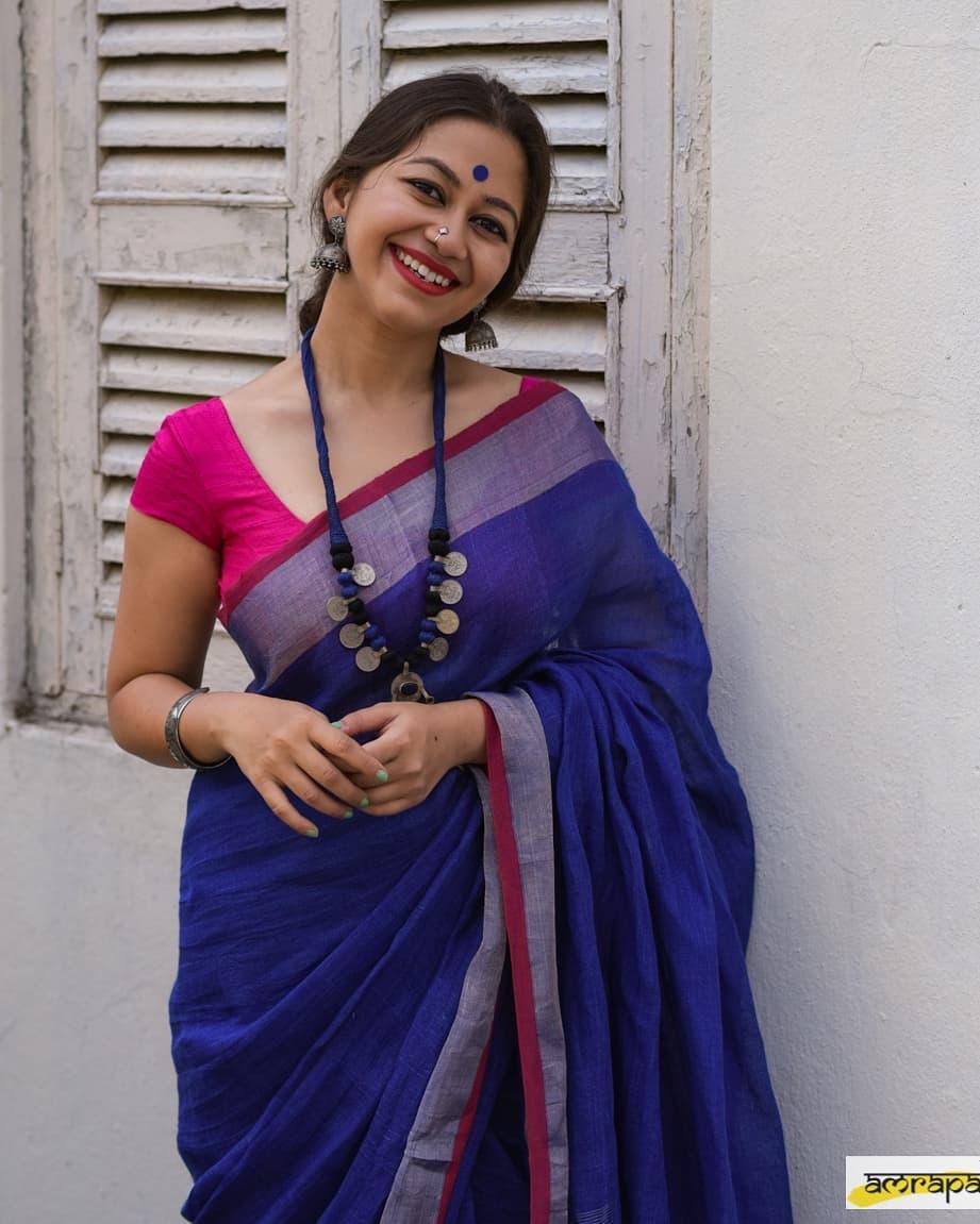 Simple-Saree-Look(15)
