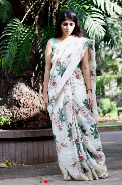 latest-floral-sarees-4