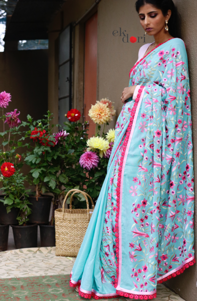 latest-floral-sarees-7