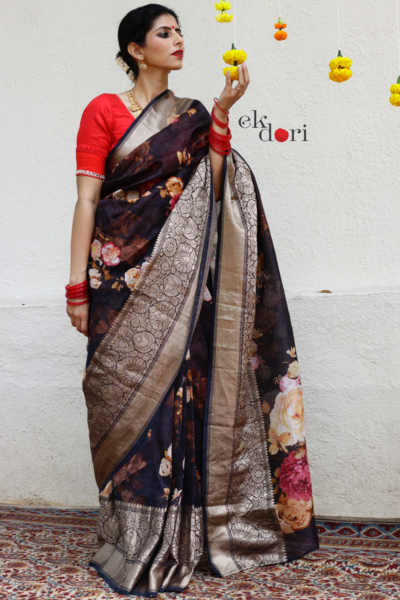 latest-floral-sarees-9