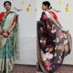 Aesthetic Floral Sarees Are Here To Shop!