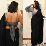 Shoutout For All The Minimalistic Saree Lovers!