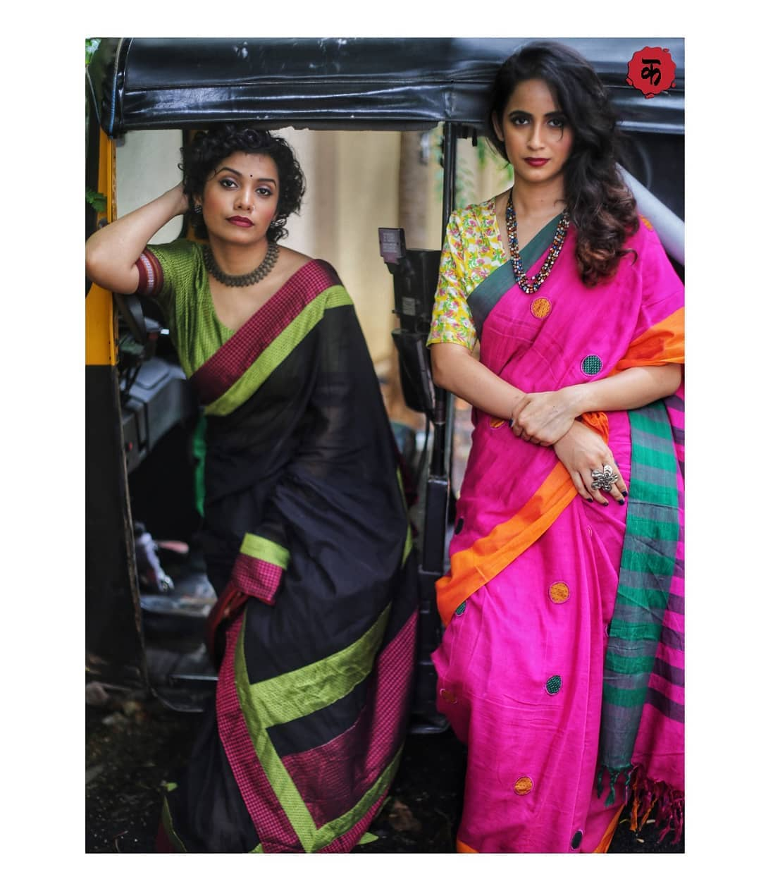 saree-with-contrast-blouse-8