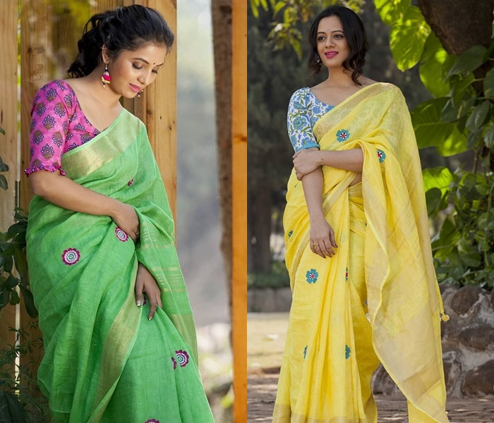 saree-with-contrast-blouse-feature-image
