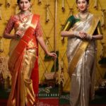 Wedding Wear Silk Sarees and Lehengas for South Indian Brides