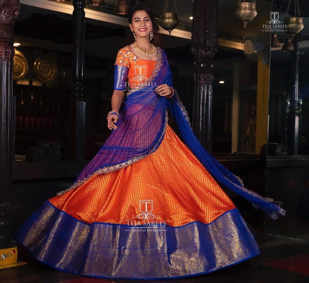 half-sarees-for-wedding-1