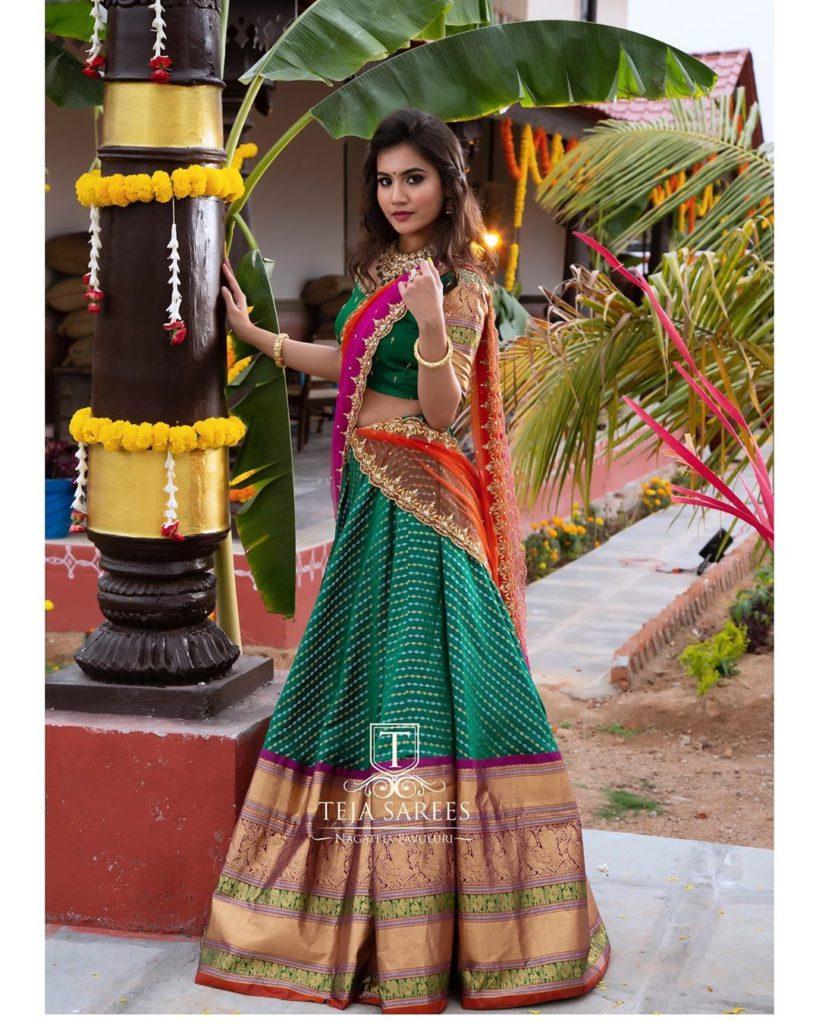 half-sarees-for-wedding-11