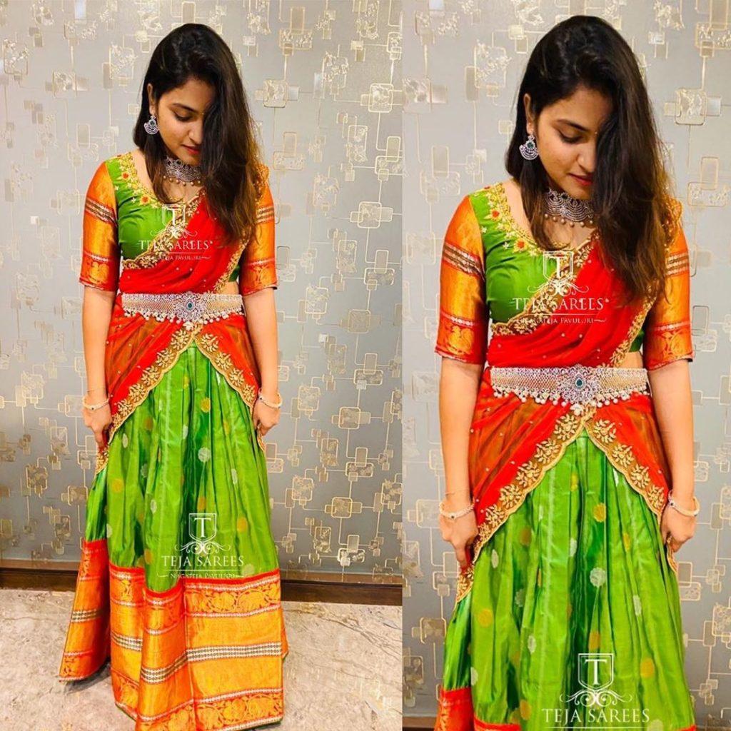 half-sarees-for-wedding-12