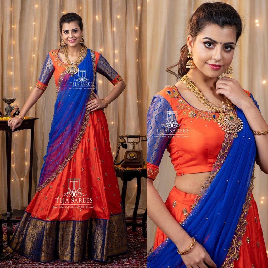 half-sarees-for-wedding-3