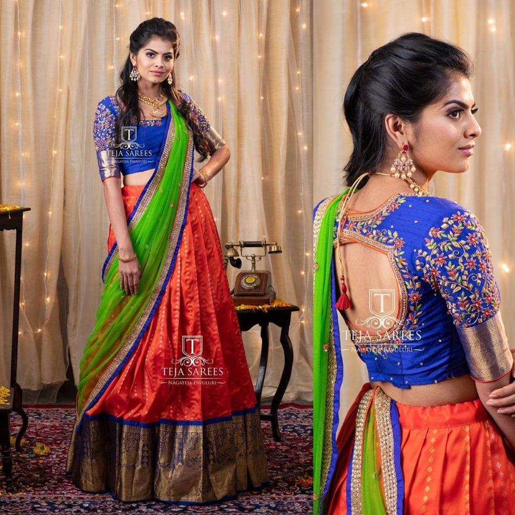 half-sarees-for-wedding-6
