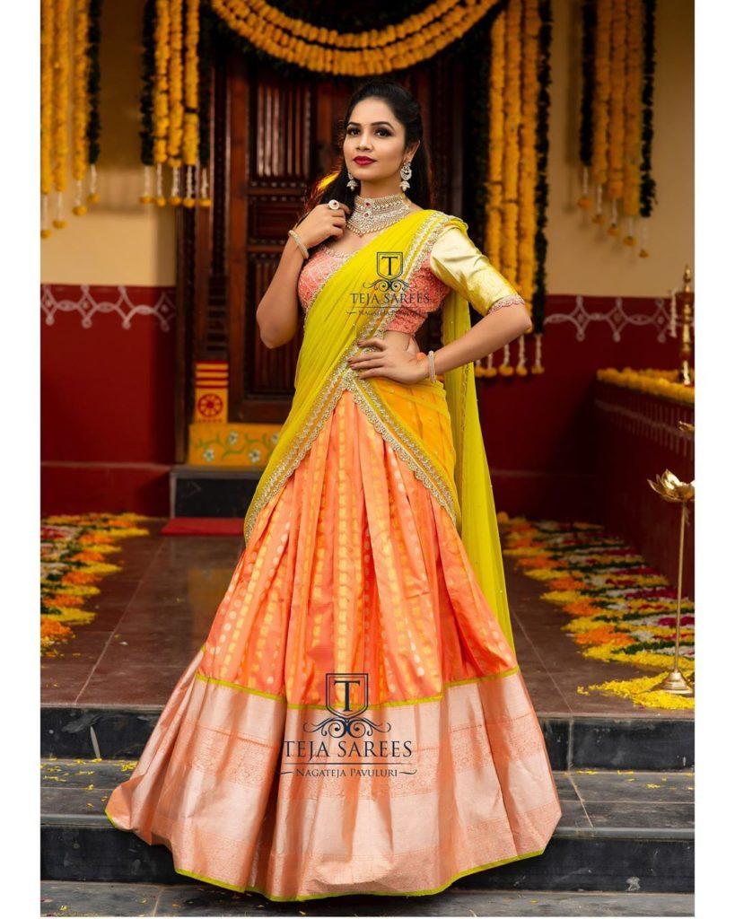 half-sarees-for-wedding-8