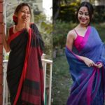 Know Different Ways To Style Linen Sarees