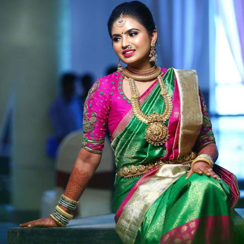 south-indian-bridal-silk-saree-2