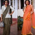 How to Wear Sarees with Long Blouses
