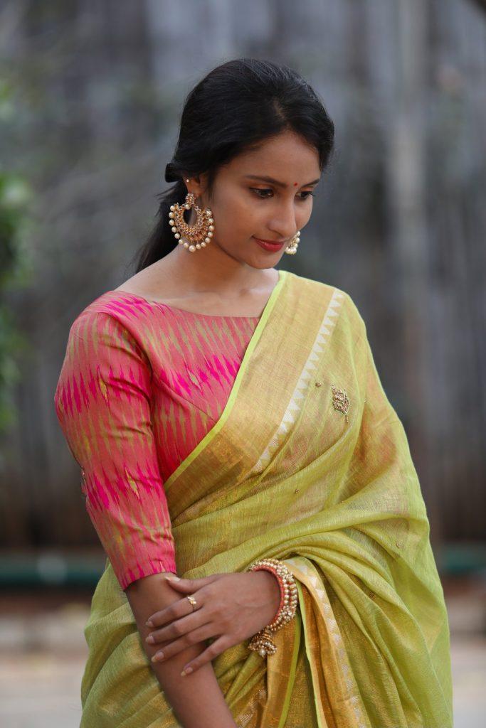 linen-saree-online