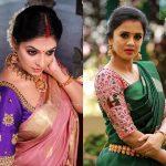 Beautiful Blouse Ideas for Silk Sarees