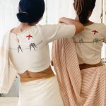 Rock This Summer With Ultra Minimalist Sarees and Blouses!