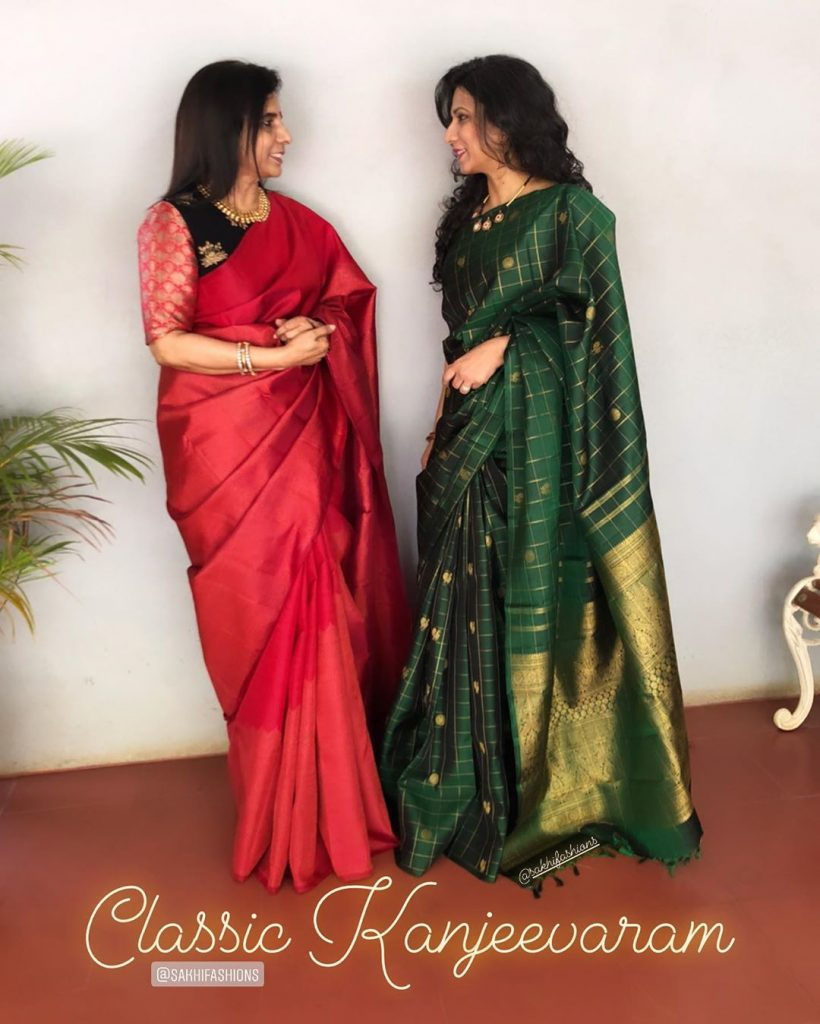 mother-daughter-matching-saree-7