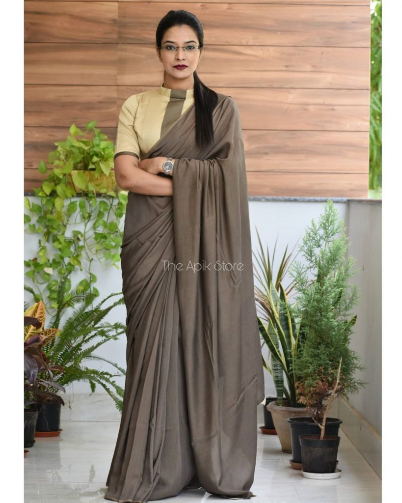 formal-saree-for-office-online