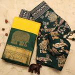 Handpicked Silk Sarees To Look Regal in Festive Look!