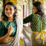 Lovely Handloom Blouses To Style Your Simple Sarees!!