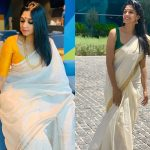 Style Your Kerala Kasavu Saree Like a Celeb!