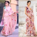 Go Shop These Awesome Floral Sarees Now!