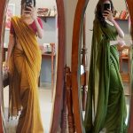 This Brand Shows How To Look Adorable In Plain Sarees!