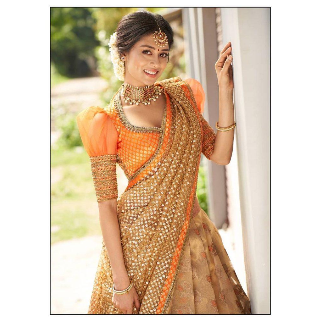 half-saree-online