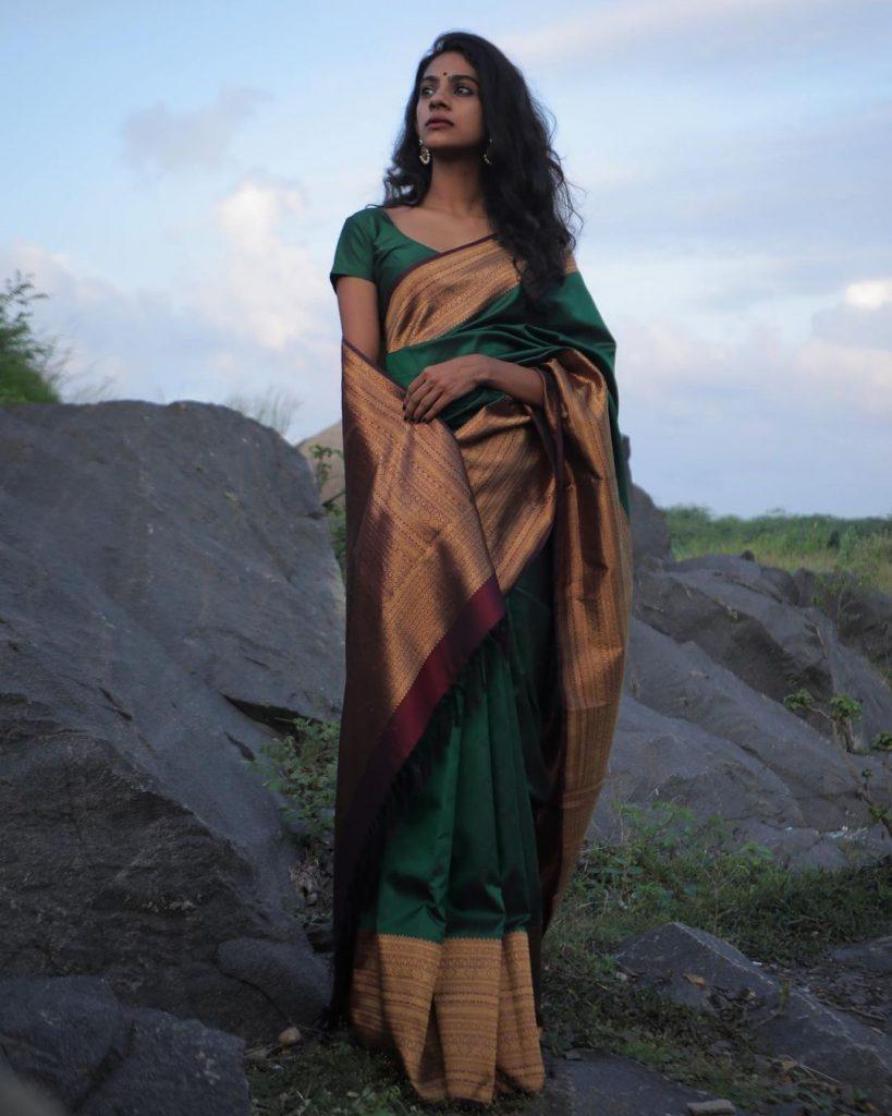 minimal-saree-style