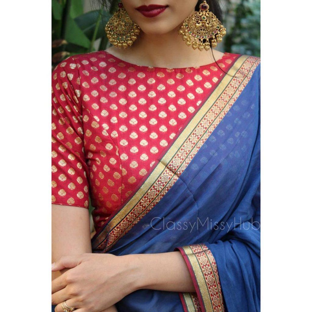 simple-saree-design-7
