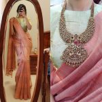 The Simple Saree Trend That Everyone' s Flaunting In Instagram!!
