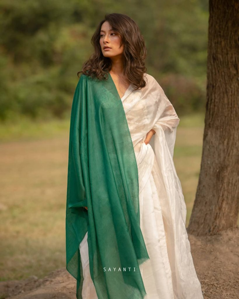 styling-saree-in-winter-5