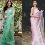 These Brands Have Breezy Pastel Sarees For The Upcoming Spring Season