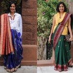 Contemporary Saree Styling And Draping Styles!!