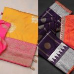 Gorgeous Saree And Blouse Combinations To Shop From!