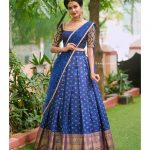 Half Sarees And Traditional Lehengas
