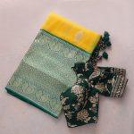 saree-blouse-combinations