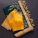 saree-blouse-combinations
